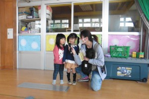 幼児クラブ芋煮会