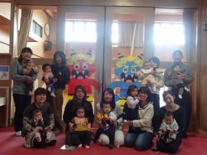 幼児クラブ集合写真